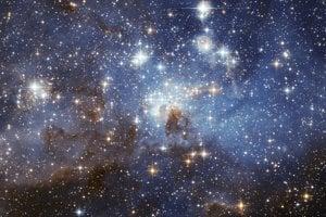 Hviezdne jasle LH95 v galaxii Veľký Magelanov mrak.