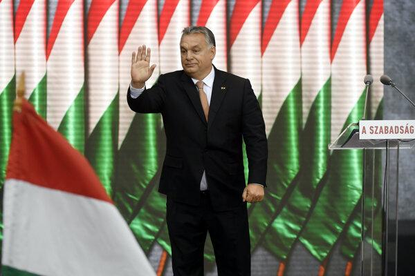 Maďarský prezident Viktor Orbán.