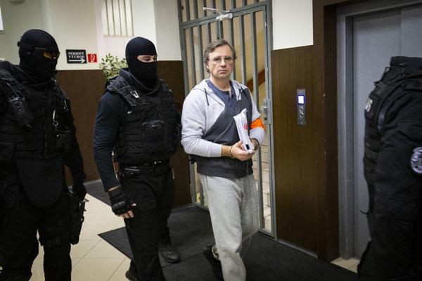 valentin Vinogradov na novembrovom súde v Trnave.