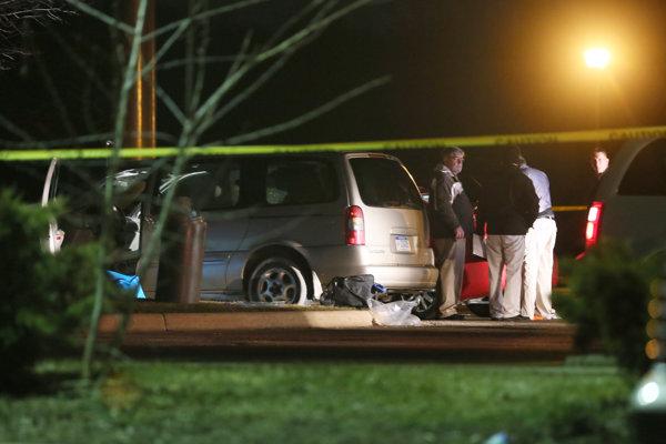 Auto strelca z Kalamazoo.