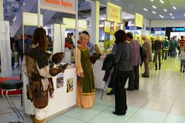 Výhercov sme vyžrebovali počas osláv Svetového dňa turizmu v obchodnom centre Laugaricio.