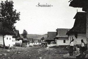 Šumiac v roku 1934.