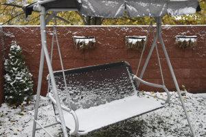 Sneh v Košiciach.
