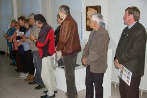 V Čadci vystavujú neprofesionálni výtvarníci.