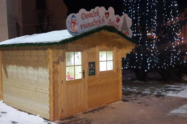 Domček vianočných želaní v Spišskej Belej.