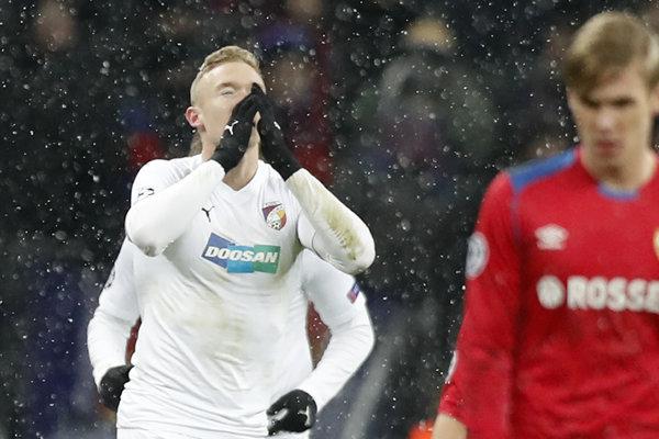 Slovák Roman Procházka zažil v Lige majstrov pamätný večer.