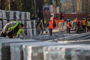 Stavebné práce na Tehelnom poli finišujú.