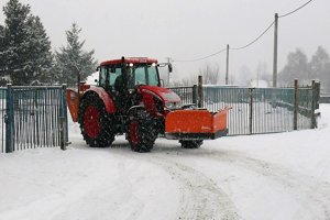 Mesto Vrútky si zabezpečuje zimnú údržbu samostatne.