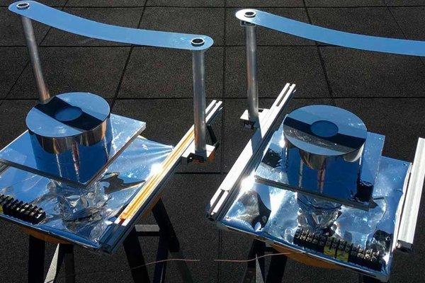 Zariadenie na chladenie, ktoré vyrobili vedci z MIT pomocou bežných materiálov.