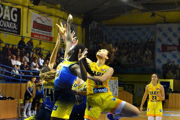 Košické basketbalistky čaká turnaj Európskej ligy.