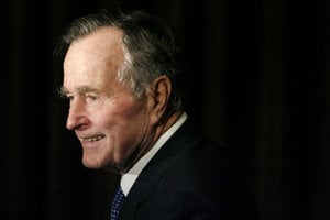 George Herbert Walker Bush.