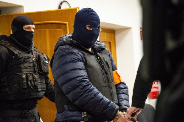 Obvinený Zoltán Andruskó.