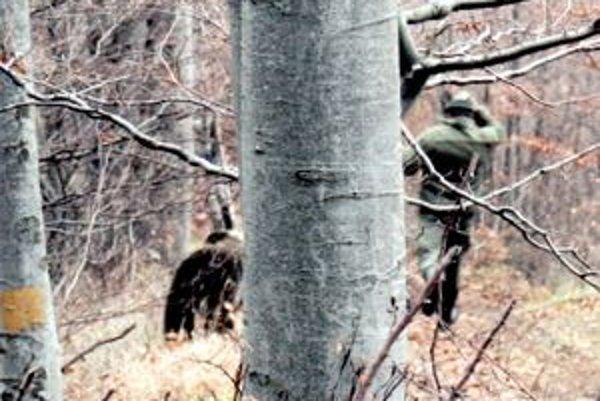 Beh o život. medveď napadol Paľa počas poľovačky.