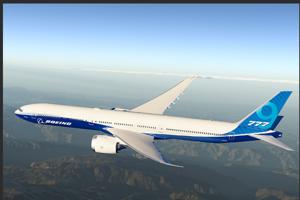 2. Pripravovaný Boeing 777-9 má cenníkovú cenu 408,8 milióna eur.