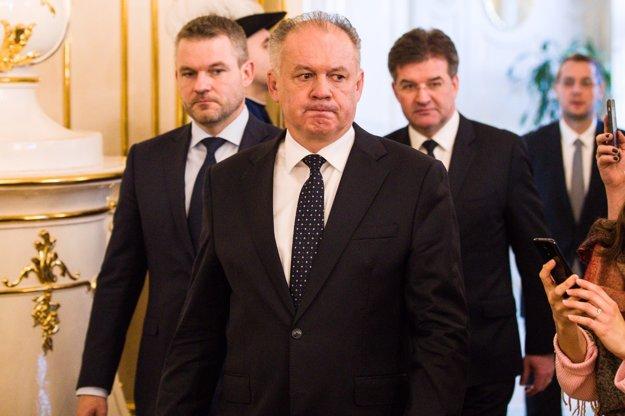 Andrej Kiska sa stále nerozhodol.