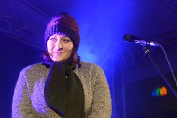 V Kataríne dnes zaspieva koledy Katka Koščová.