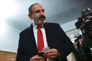 Úradujúci arménsky proreformný premiér Nikol Pašinjan.