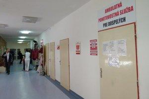 Pohotovosť pre dospelých v Leviciach je od 1. decembra zrušená.
