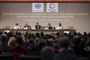 Jednanie o Globálnom kompakte o migrácii v Marrakéši.