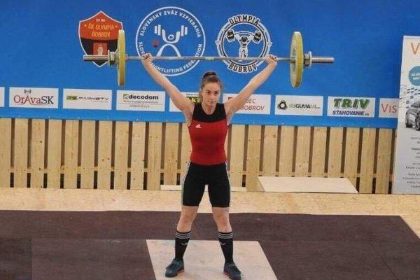 Natália Hušťavová, majsterka Slovenska junioriek.