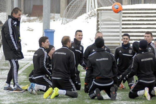 Futbalisti vymenili chladný Ružomberok za teplé Turecko.