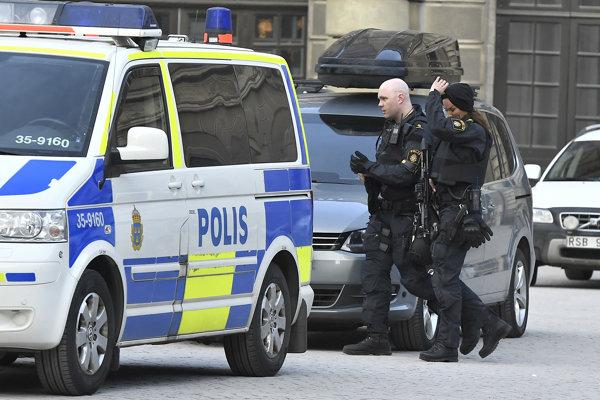 Švédska polícia.