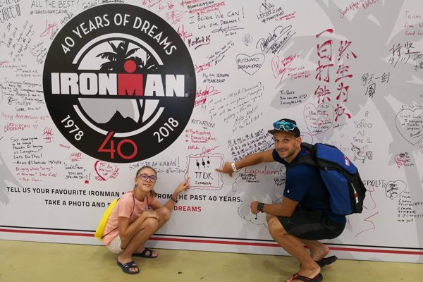 V Malajzii súťažili z Triatlon team Dolný Kubín Eva Mikulášová a Michal Holub.