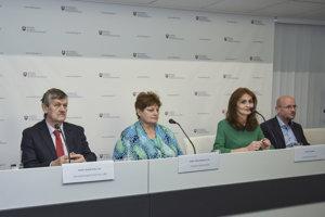 Predstavenie skríningového programu za účasti ministerky zdravotníctva.