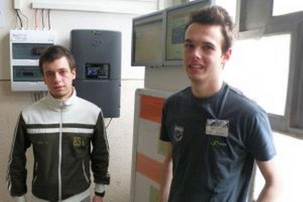 Jakub Gordoš (vľavo) aTomáš Kuraňka.