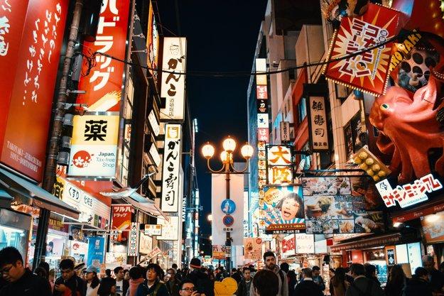 Ulice Osaky
