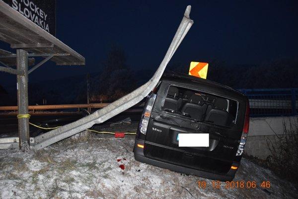 Nehoda v Čoltove.