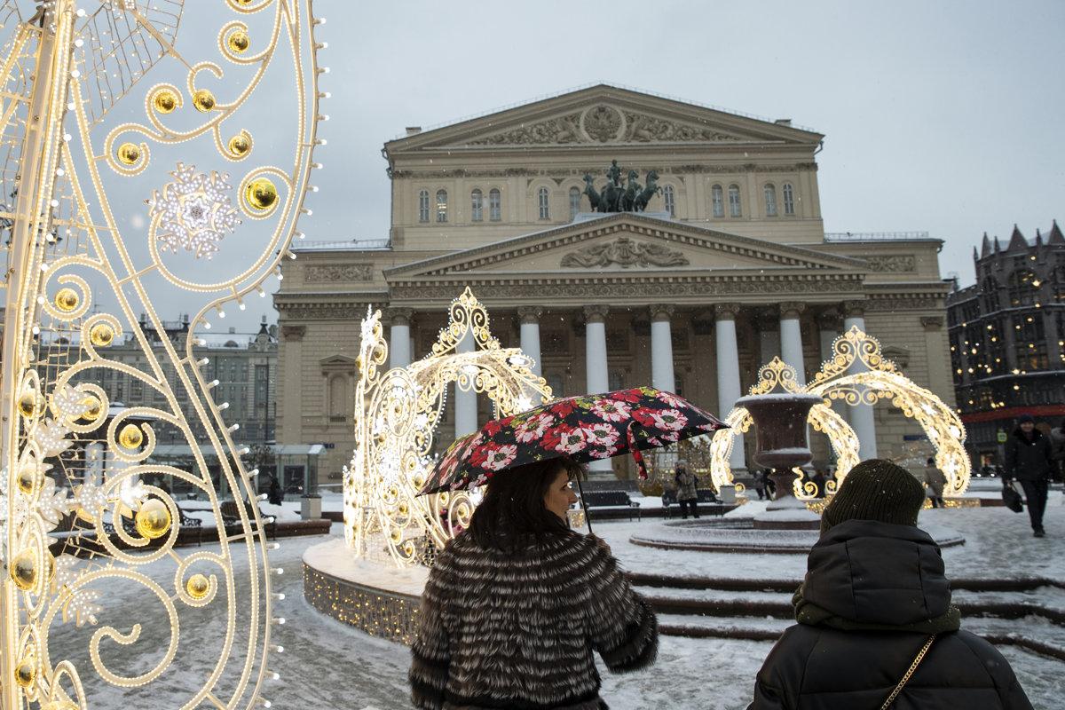 V ruskom banskom mestečku natierali sneh na bielo 062326da2b1