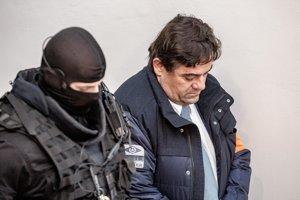 Marian Kočner na Špecializovanom trestnom súde v Banskej Bystrici.