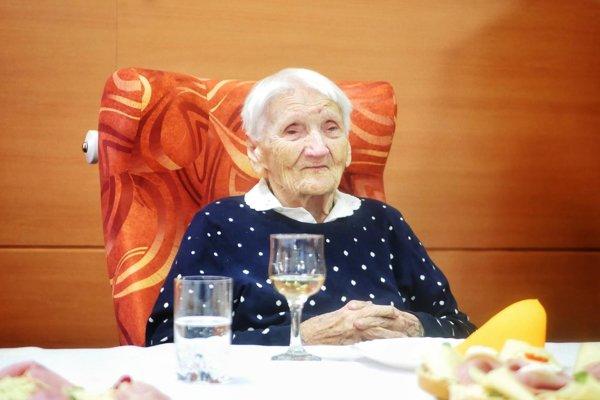 Maria Galóczyová oslávila výnimočné jubileum.