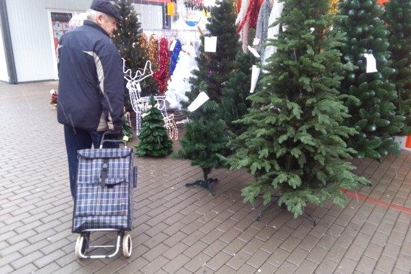 Ceny stromčekov sú rôzne.