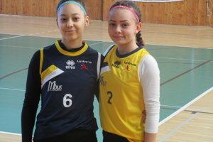 Zľava Kristína Sojková a Kristína Svinčiaková.