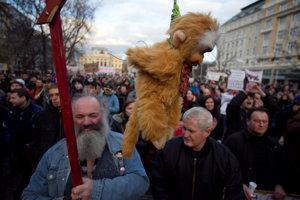 Protesty proti Gorile v roku 2012.