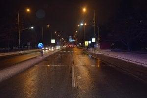 Levočská ulica, miesto dopravnej nehody