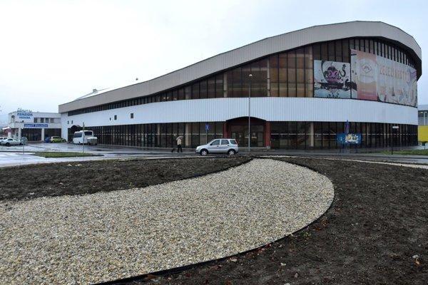Humenský zimný štadión.