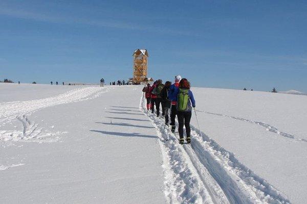 Zimný turistický prechod Zákamenským grúňom - 12. ročník.