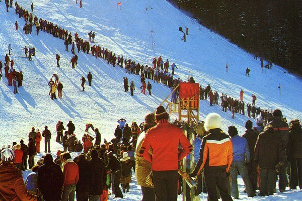 Jeden zo svetových pohárov v Jasnej, Štartovali na nich veľké lyžiarske hviezdy.