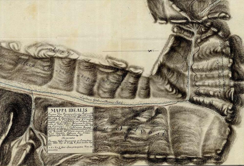 Hoffmanova mapa z roku 1793 znázorňuje priebeh navrhovanej obchodnej cesty Tichou dolinou. V Liptovskej stolici sa preto zišla osobitná komisia, ktorá prezrela celú trasu cesty. Dalo by sa to prirovnať k dnešnému stavebnému konaniu.