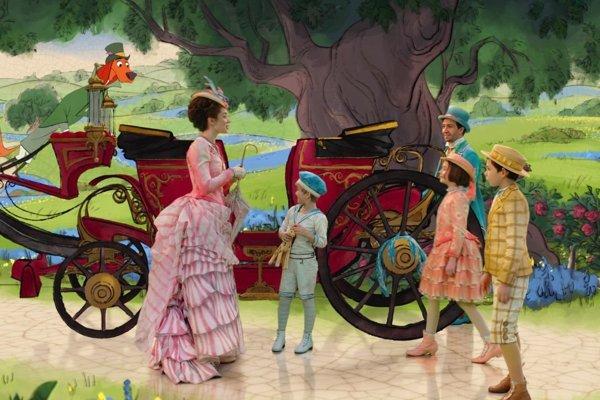 Návrat Mary Poppins.