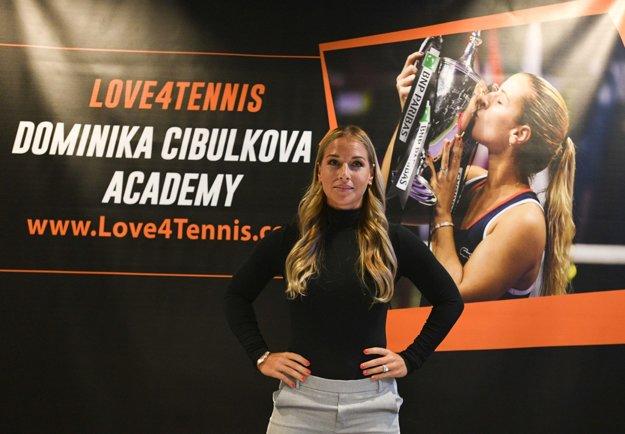 Cibulková spojila svoje meno s akadémiou Love4Tennis.