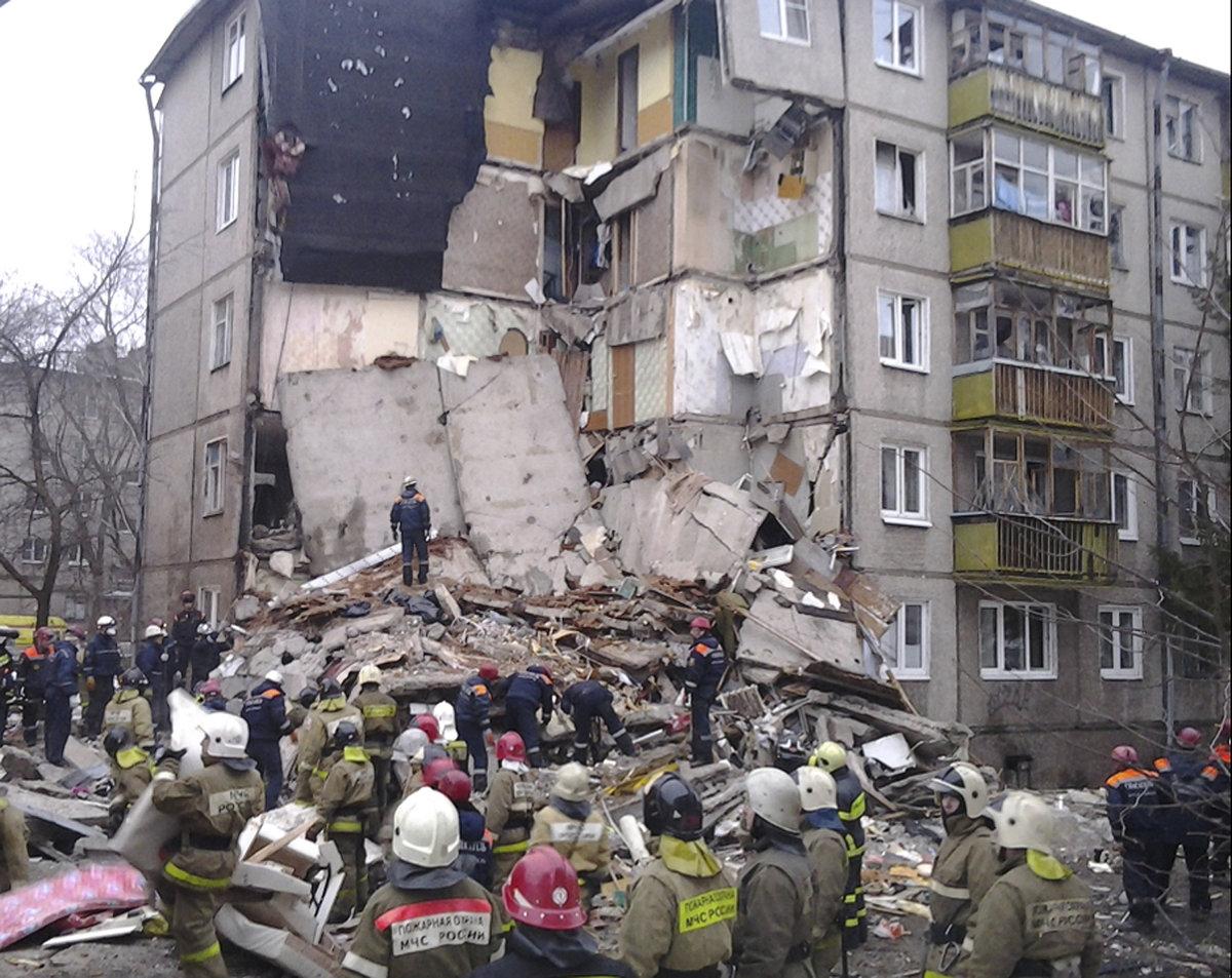 220ee1fb5 Výbuch plynu v ruskom Magnitogorsku zabil najmenej siedmich ľudí ...