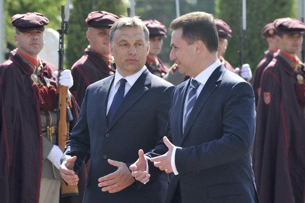 Orbán a Gruevski si rozumeli už vtedy, keď boli obaja premiérmi.