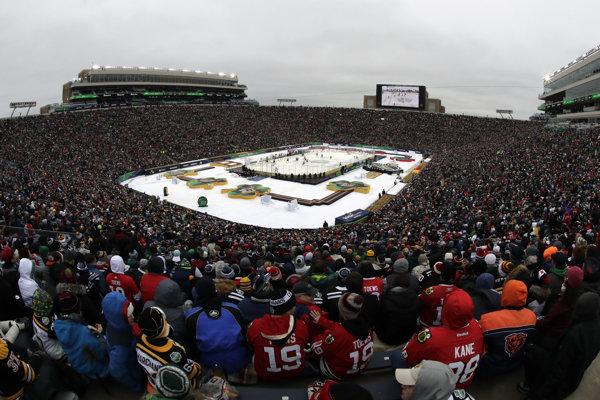 Diváci neboli s organizáciou podujatia Winter Classic spokojní.