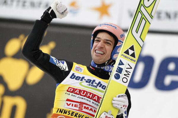 Andreas Kofler si v minulosti obliekol aj žlté tričko vedúceho pretekára.