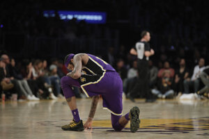 Brandon Ingram z Los Angeles Lakers.