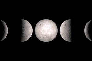 Aj odvrátená strana Mesiaca má fázy, ktoré sa menia.